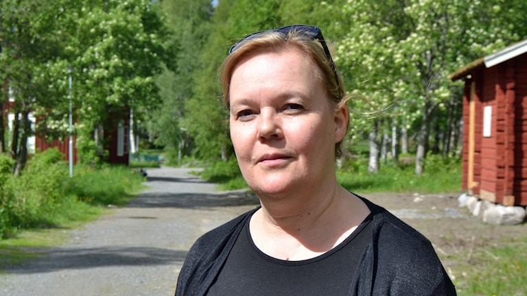 Ulrica Grubbström, vd Västerbottens museum. Foto: Peter Öberg, Sveriges Radio.