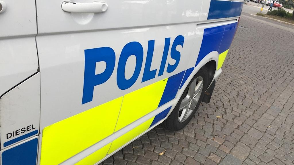 Polis polisen polisbil brott