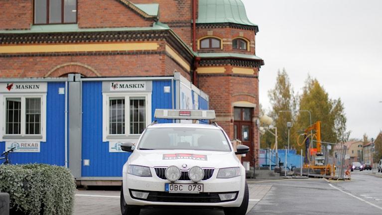 Umeå centralstation väktare