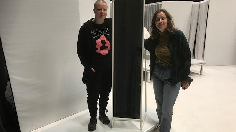 Anna Routimaa och Marlene Johnsson