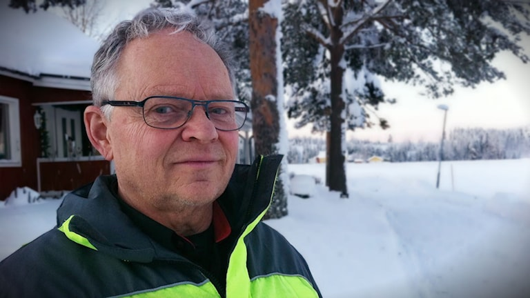 Lars Pettersson, produktionschef på tekniska kontoret i Skellefteå.