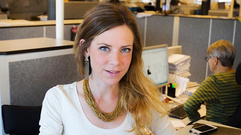 Kulturjournalisten Sara Meidell får Guldpennan