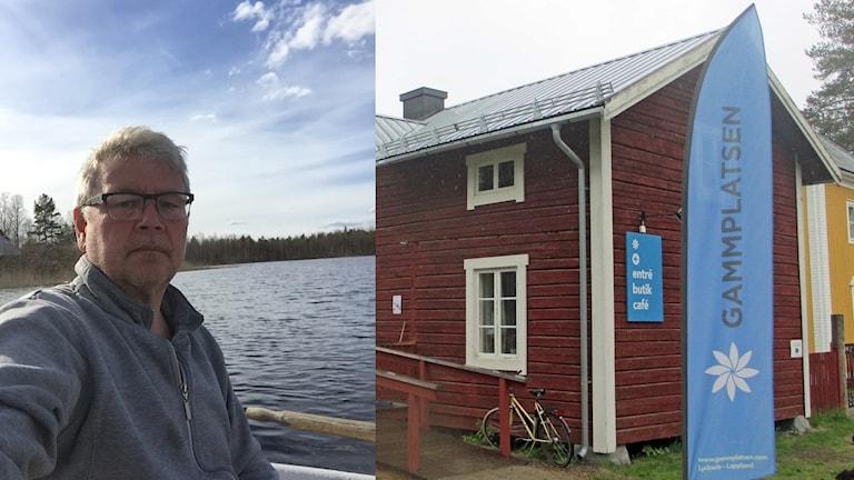 Stig-Lennart Karlsson och Gammplatsen