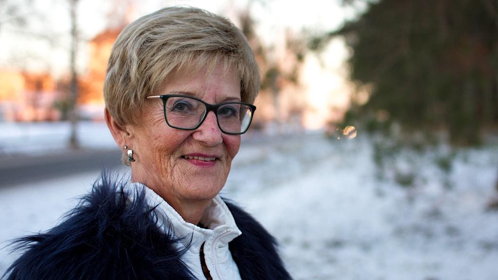 Porträttbild på Gun-Britt Sandgren