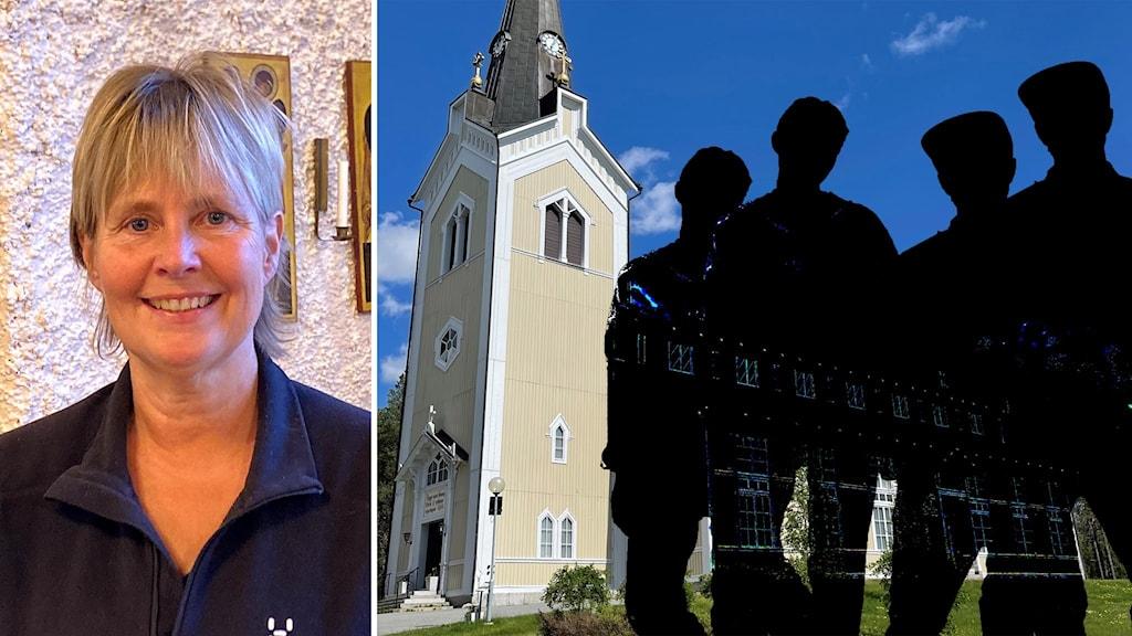 Svenska kyrkans församling i Stensele är den församling där medlemmarna minskat mest sedan förra valet. Arbetsledaren Ann-Louise Holmberg Karlsson tror problemet är bristen på personal och präst.