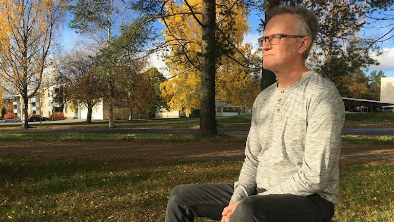 Peter Lindberg från Föräldraföreningen mot narkotika är också själv förälder till en missbrukare.