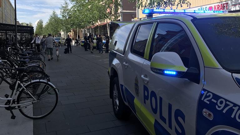 renmarkstorget i Umeå.