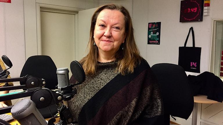 Maria Nilsson, forskare vid Institutionen för folkhälsa och klinisk medicin i Umeå