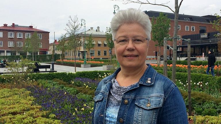 Carina Sundbom Centerpartiets gruppledare i Skellefteå