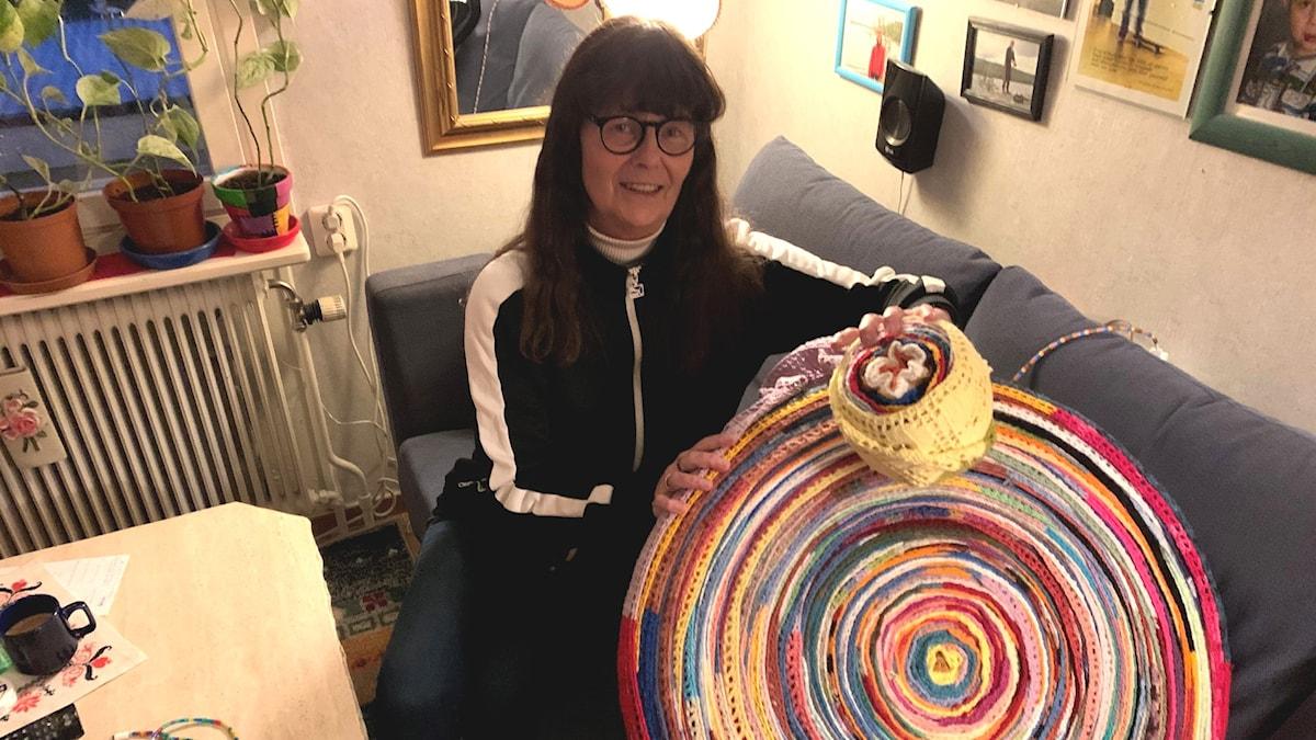 Birgitta Sandström, hyllningslucka två Foto: