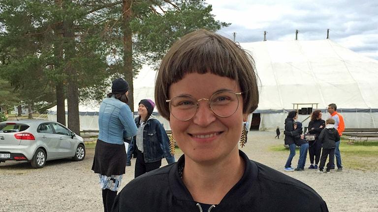 Lina Mattebo föreläser på Lappis