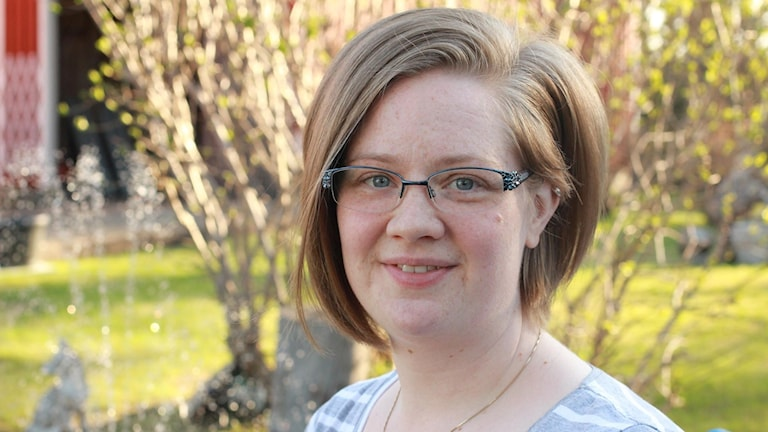 Sara Nygren undersköterska i Dorotea