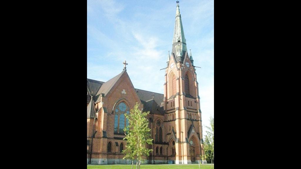 Stadskyrkan i Umeå.Foto Tommy Engman.