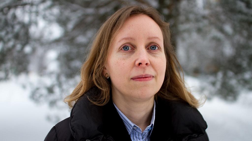 Porträttbild på Lise Eriksson