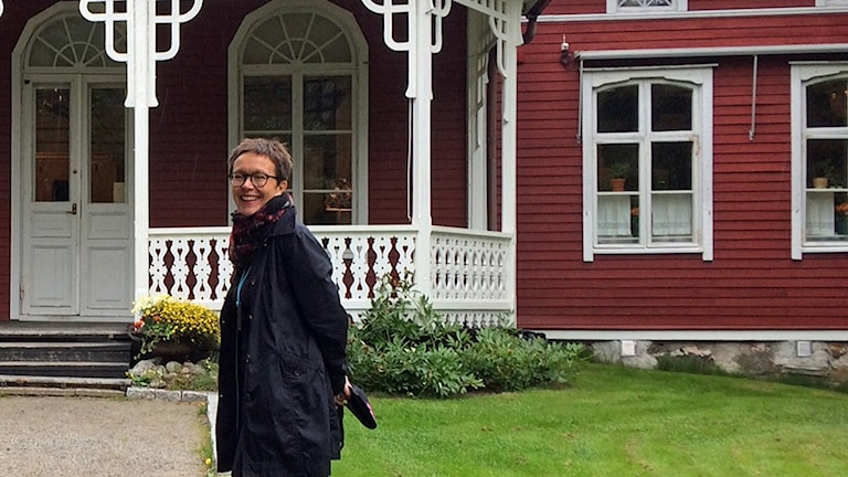 Christina Staffans framför Strömsö