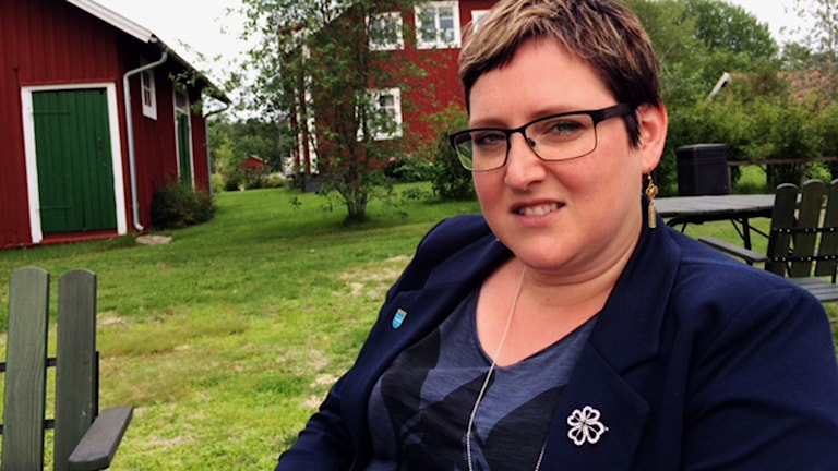 Nordmalings kommunalråd Madelaine Jakobsson (C).