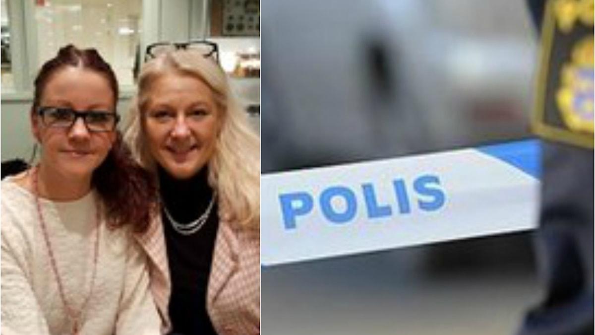 Jenny Eriksson och Lena Sandlin startade tillsammans föreningen. Nu vill polisen att Jenny Eriksson ska sluta.