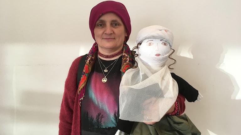 Nemam Ghafouri, läkare som jobbar i flyktingläger