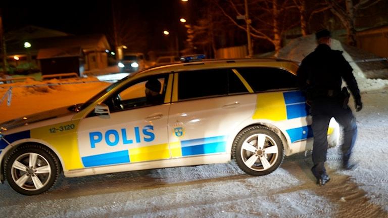 Polisinsats i Ersboda