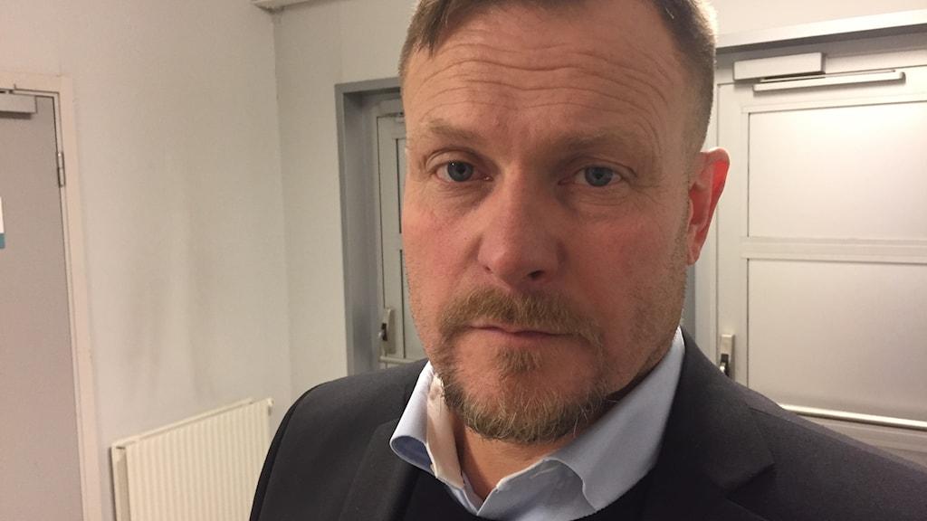 Joakim Fagervall, coach i Björklöven, var frustrerad efter matchen.
