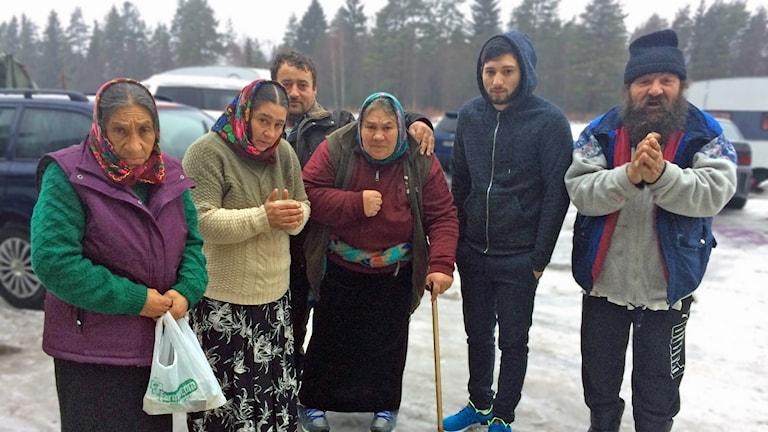 EU-migranter vid Backen
