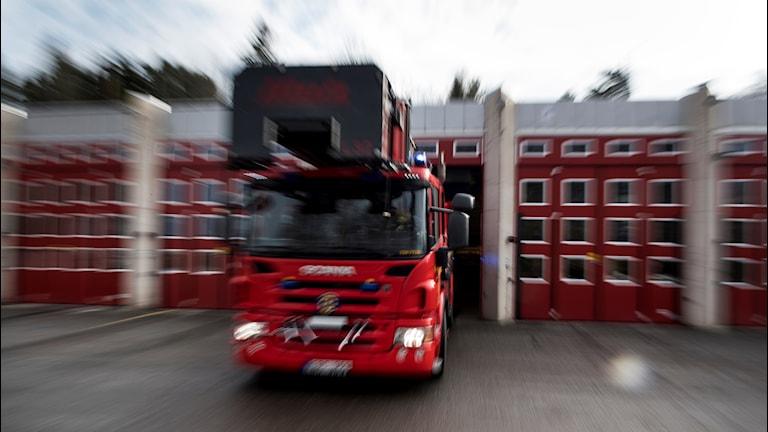 brandbil, räddningstjänst