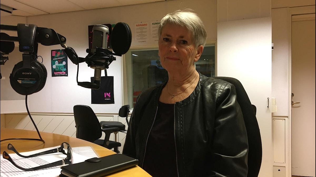 Eivor Sjöström är samordnare för brottsofferstödsverksamheten på Brottsofferjouren i Umeåregionen