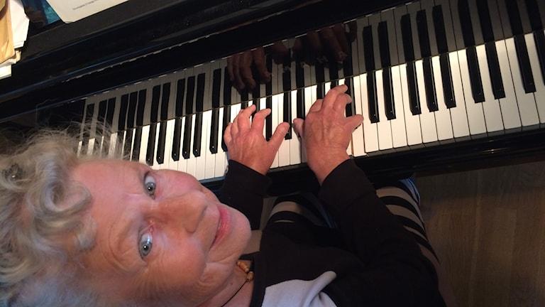 Elisabeth Holm. Foto: Linnea Hedelilja