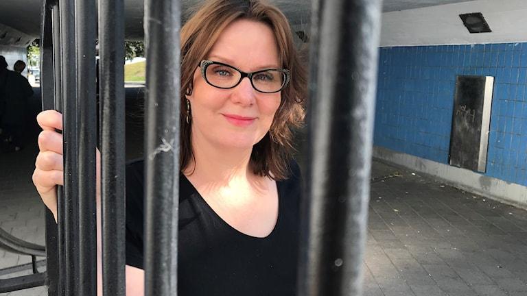 Eva Häggmark. Foto: Felicia Danielsson/ Sveriges Radio