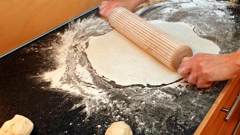 Brödbakning.