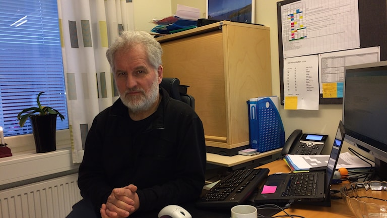 Jan-Erik Eriksson, rektor vid Obbola skola årskurs 4-9.