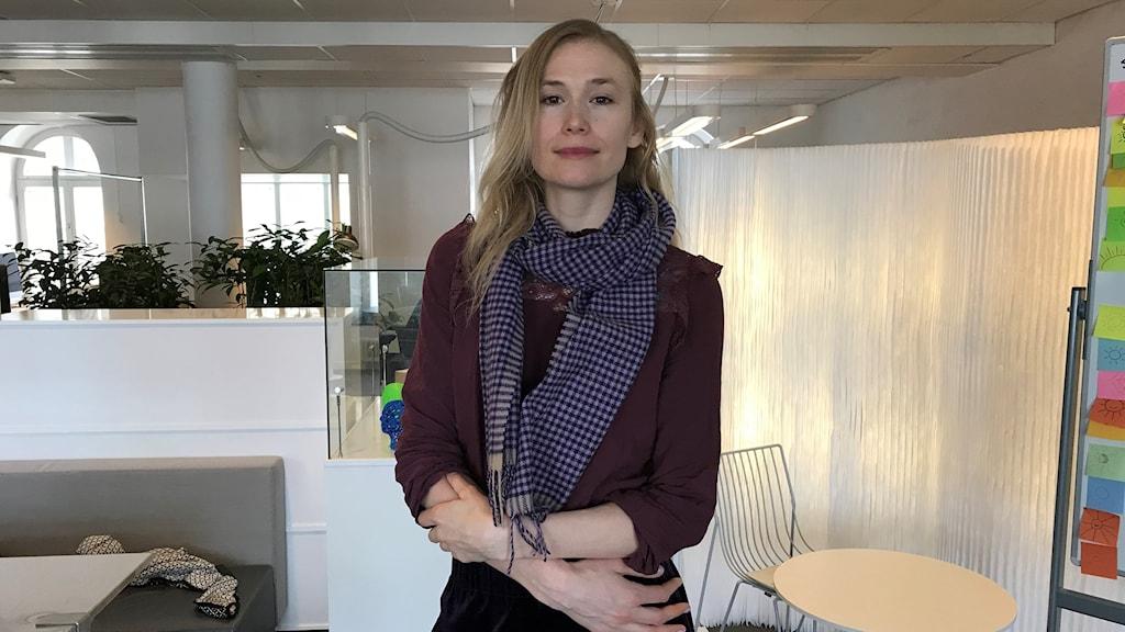Evelin Gyllenram, Stoppa 5G oetiskt experiment Umeå
