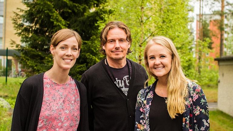 Tinna Sandström och Hanna Sondell tipsade oss tillsammans med Gerhard Stenlund.