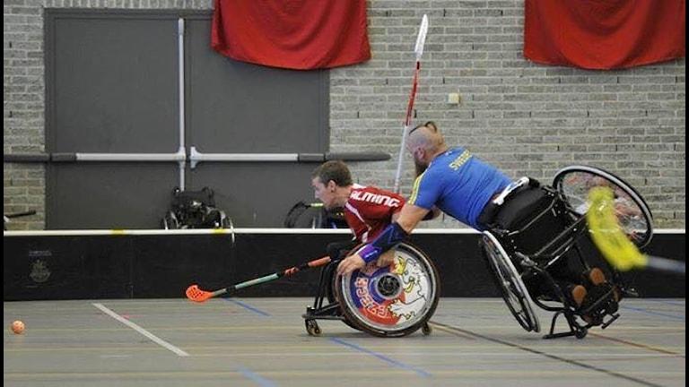 Rullstolsinnebandy, närkamp, svenska landslaget