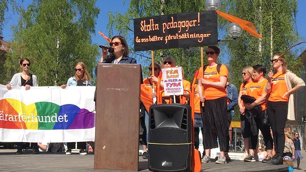 Demonstration Föräldraupproret