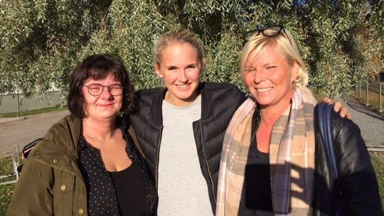 Mia Danielsson, Marica Almfalk och Agneta Jaktland Foto Åza Meijer
