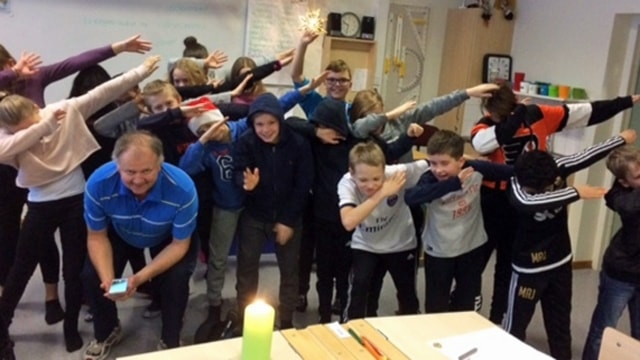 5A på Norrhammarskolan