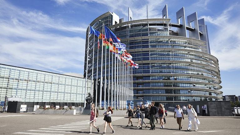 Europaparlamentet i Strasbourg.