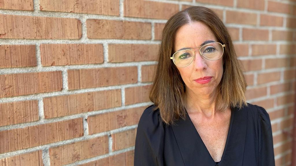 Jenny Olsson, ordförande för Vårdförbundet i Västerbotten.