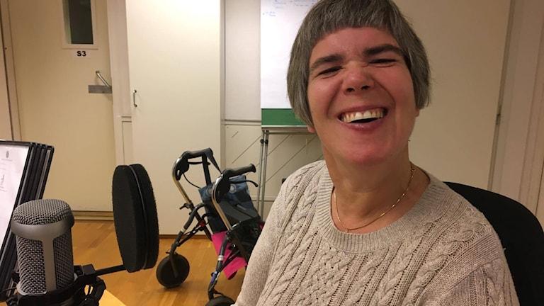 Karin Nilsson är ordförande i Neuroförbundet i Umeå.