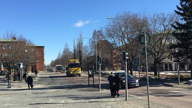 Här kommer Kanalgatan grävas av
