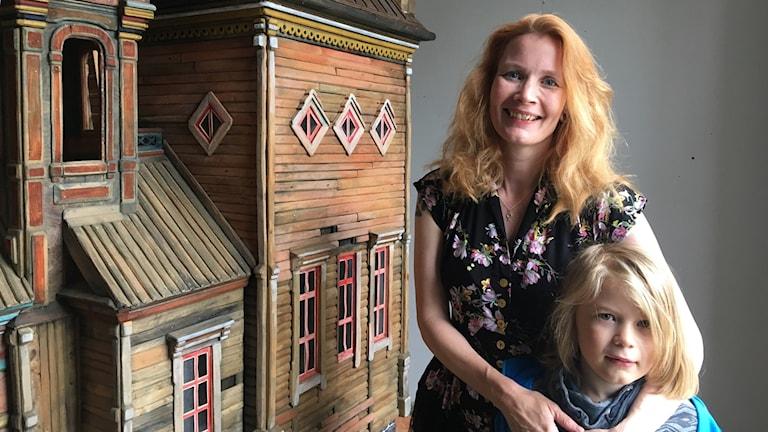Jenny Samuelsson med Eyvind. Foto Ulla Öhman