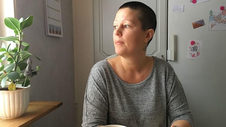 Maria Casal kommer från Kramfors och hon har drabbats av ME.