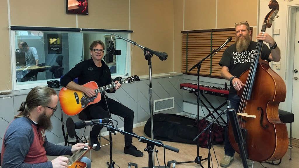 Country-trion Bob, Hank and Joe från Sundsvall
