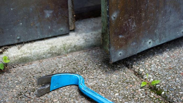 Inbrottstjuvar använder ofta kofot för att bryta sig in. Foto: Henrik Montgomery/TT