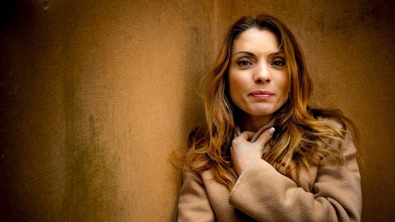 Författaren och journalisten Alexandra Pascalidou. Foto: Staffan Löwstedt/SvD/TT