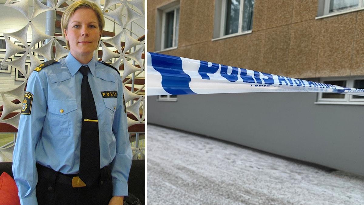 Josefin Perming Tengqvist, polisen.