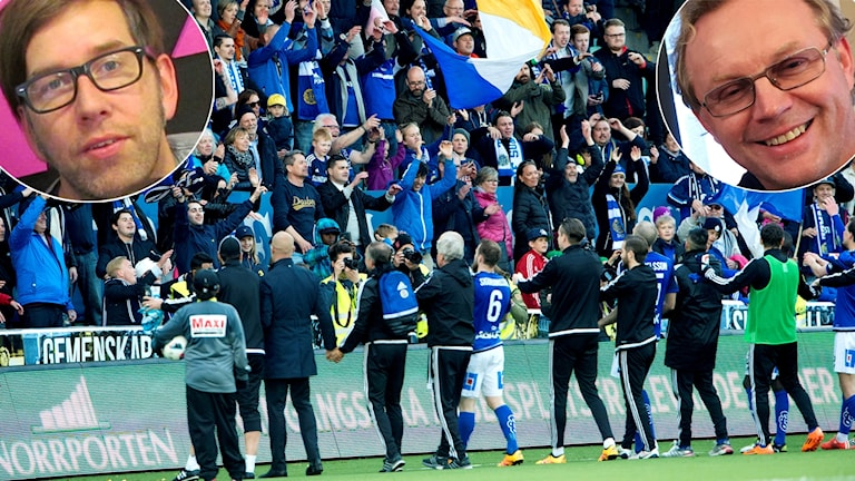 Hansi Fellbrink och Mikael Andersson-Knut och Gif Sundsvall