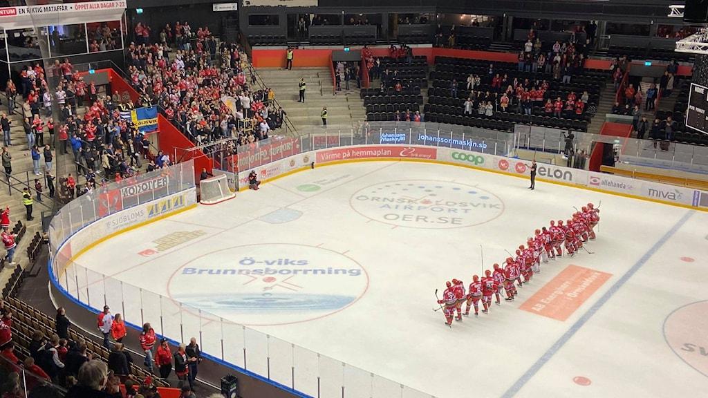 Modos spelare tackar klacken efter vinst mot Kristianstad