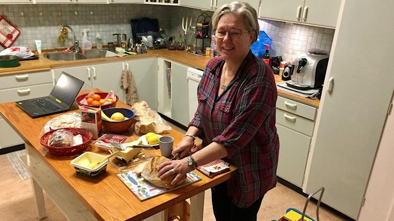 Eva Nordung Byström, biskop i Härnösands stift. Foto Lotte Nord.
